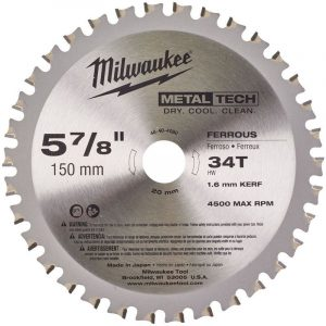 milwaukee-150mm-34t-saw-blade-1-pc-toolsales-donegal
